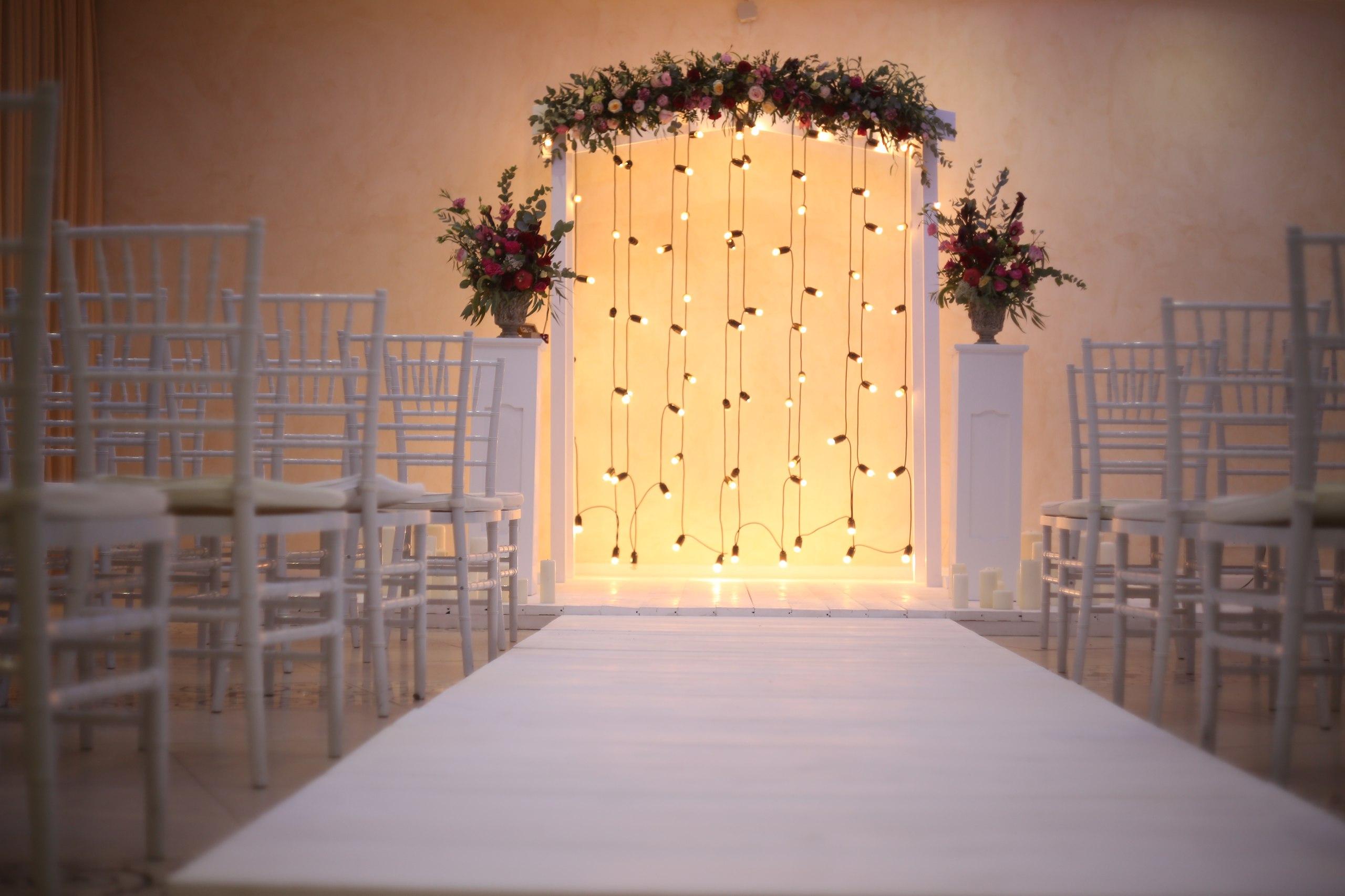 Лампочки ретро на свадьбу фото